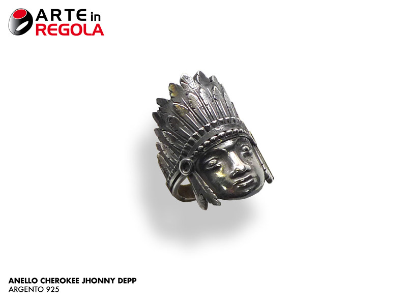 Anello Cherokee di Johnny Depp